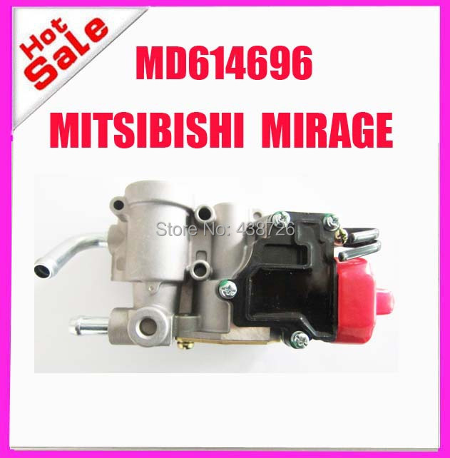 oem MD614696 AC299   MD614696 Idle Air Control Valve  for MITSUBISHI MIRAGE new md614698 idle air control valve speed stabilizer for mitsubishi galant 2 4l