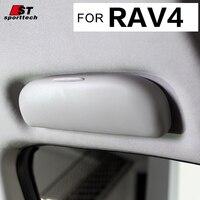Auto Styling Sonnenbrille Fall Für Toyota RAV4 Sonnenbrille Fall Box Halter Sonnenbrille Visier Clip Für Toyota RAV4 2013-2017 zubehör