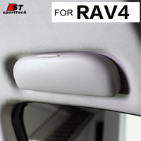 Car Styling Sunglass Case For Toyota RAV4 Sunglass Case Box Holder Sunglasses Visor Clip For Toyota