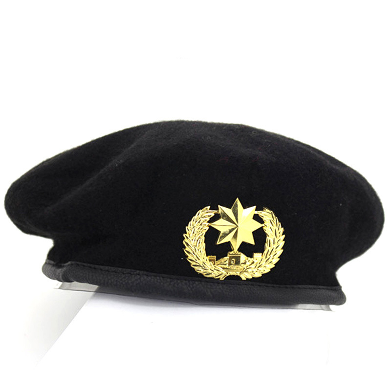 82a7903e3d610 High Quality Wool Army Berets for Men Women Children Star Emblem Sailor  Dance Performance Hat Adult Child Trilby Hat Cap-in Berets from Apparel  Accessories ...