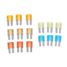 цена на 15 Pieces Micro 2 ATR Blade Style Audio Fuses 5A 7.5A 10A 15A 20A Assorted for Car Auto RV Truck Vehicle