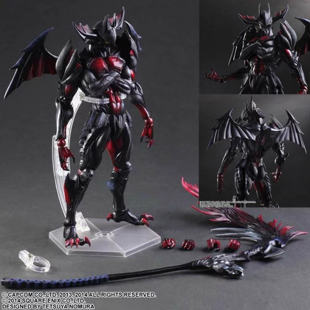 MODEL FANS Play Arts Kai PVC Toys 28cm MONSTER HUNTER Final Equip action toy figure Free shipping KB0738