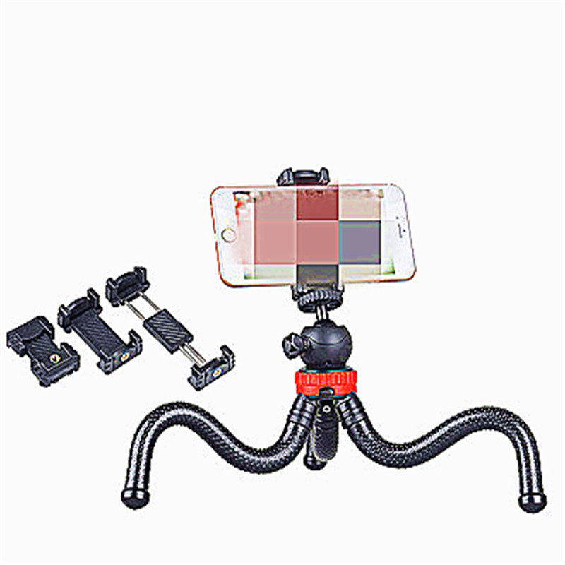 Aaliyah Large Camera Octopus Tripode Para Movil Compatible Mobile Phone SLR Camera tripod Photography Phone Tripods in Live Tripods from Consumer Electronics