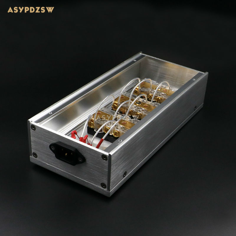 HIFI Aluminium or-plaqué phosphore cuivre NOUS standard puissance Distributeur 6 sièges alimentation tableau socket