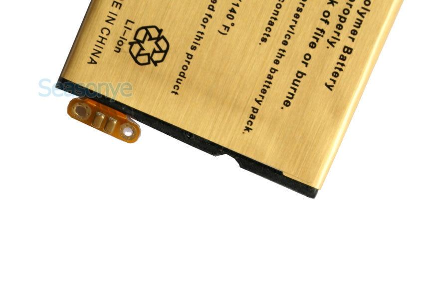 Seasonye 5pcs/lot 2850mAh EB41 Gold Replacement Battery For Motorola Droid 4 XT894 XT898 P893 P894 PHOTON Q LTE XT897 SNN5905