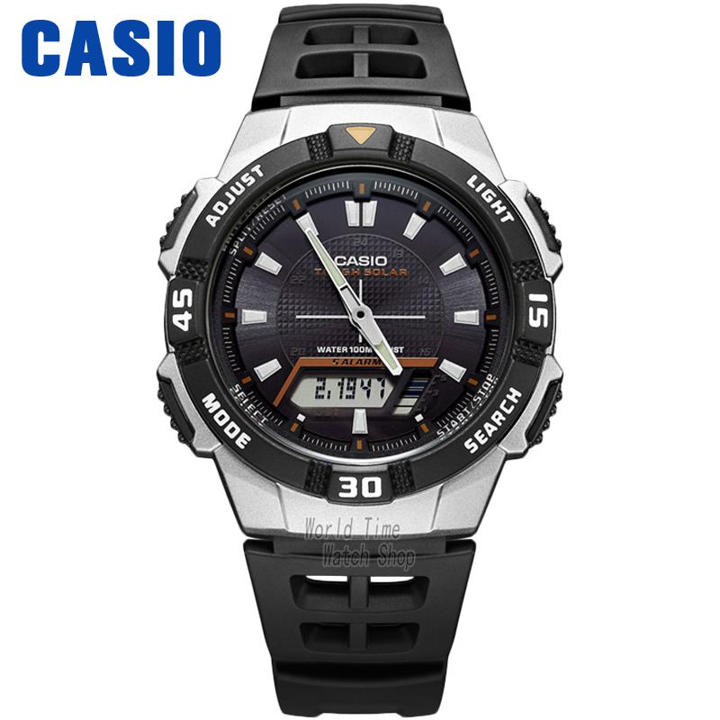 Casio watch Solar outdoor sports casual men's watches AQ-S800W-1E AQ-S800W-1B2 AQ-S800W-1B casio prw 6000y 1e