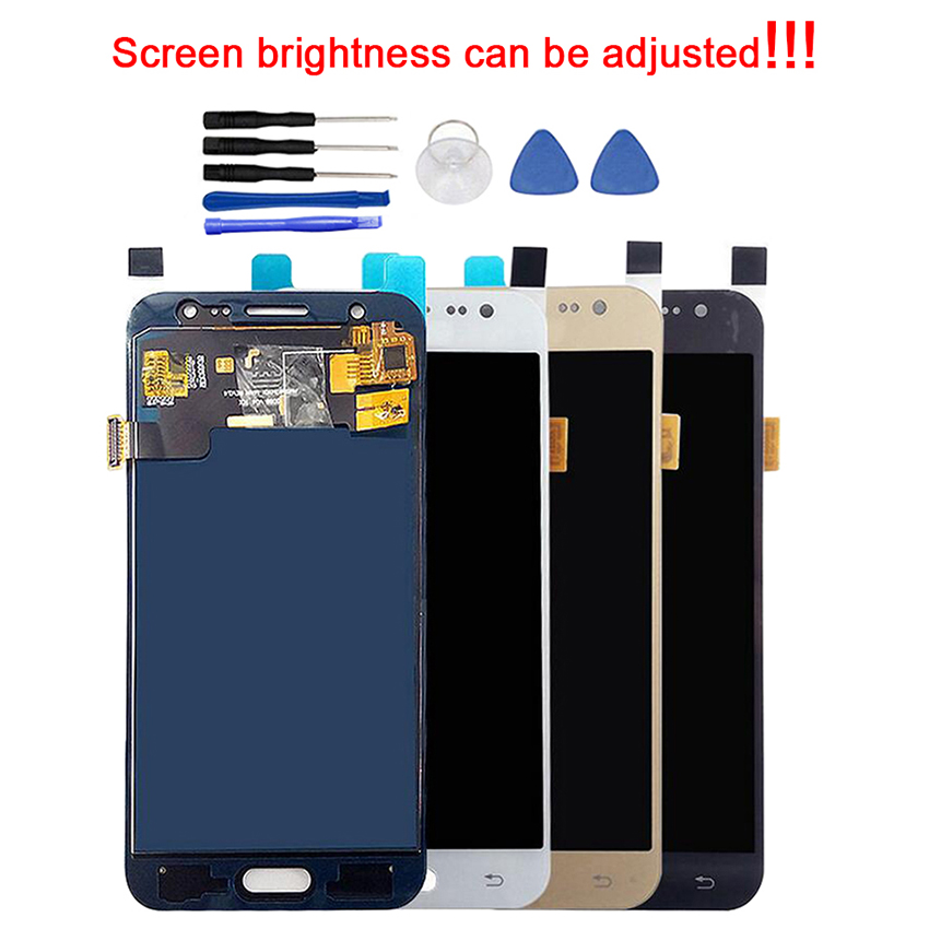 Super <font><b>AMOLED</b></font> Replacement LCDs For Samsung Galaxy J5 2015 <font><b>J500</b></font> J500F J500FN J500H J500M LCD Screen Touch Display Digitizer image