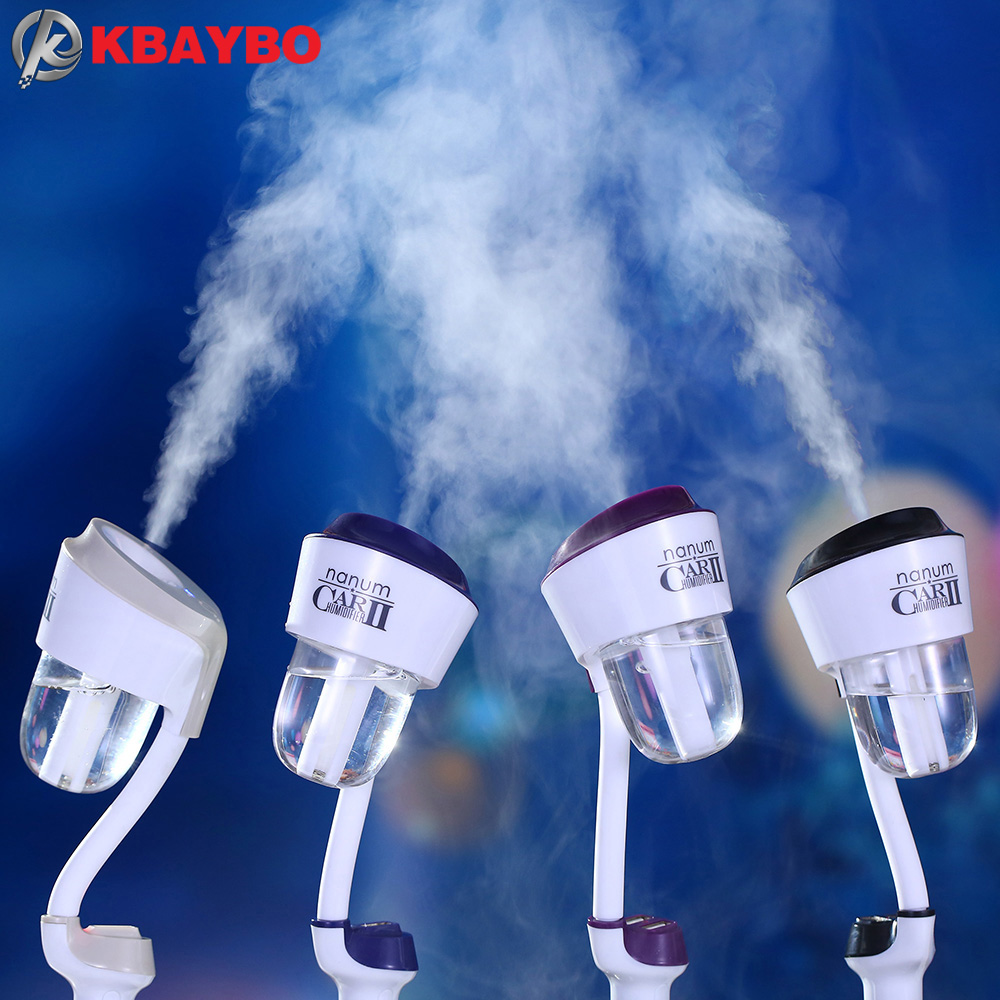 Upgraded 12V Car Humidifier Air Purifier Aroma Diffuser Essential oil diffuser Aromatherapy Mist Maker Fogger humidificador 180 degrees 12v car humidifier air purifier aroma machine 4 colors air humidifier humidity maker