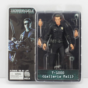 Image 2 - 18cm NECA Terminator 2 aksiyon figürü T 800 ENDOSKELETON Galleria merkezi Cyberdyne Showdown savaş boyunca zaman Pescadero Model oyuncaklar