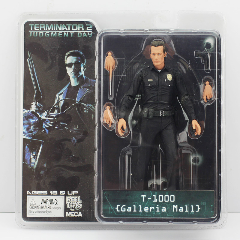 Image 2 - Terminator 18cm 6 Styles NECA The Terminator 2 Action Figure T 800 ENDOSKELETON Model Toys-in Action & Toy Figures from Toys & Hobbies