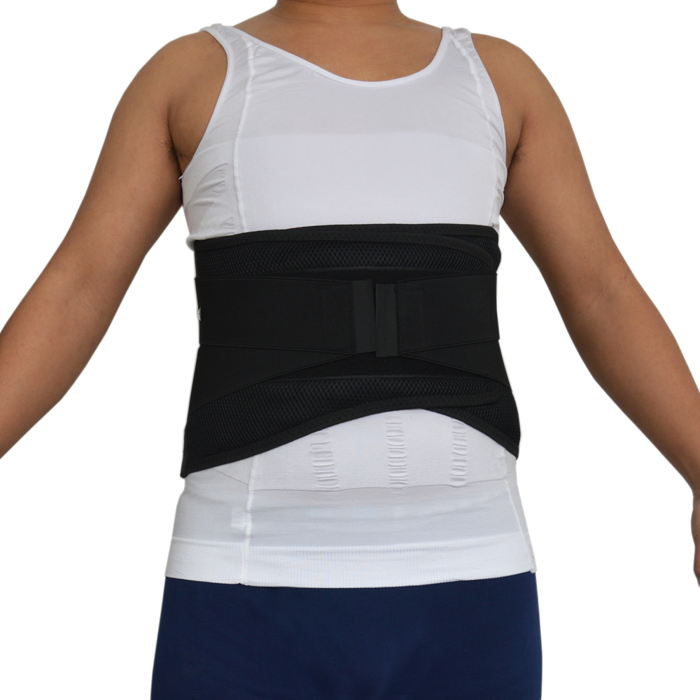 Professional Adjustable Slimming Exercise Belt Men Women Shed Water Weight Back Brace Waist Support