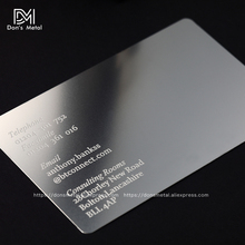 Buy personal business cards and get free shipping on aliexpress dons metal concave convex man cutout stainless steel business metal card reheart Choice Image