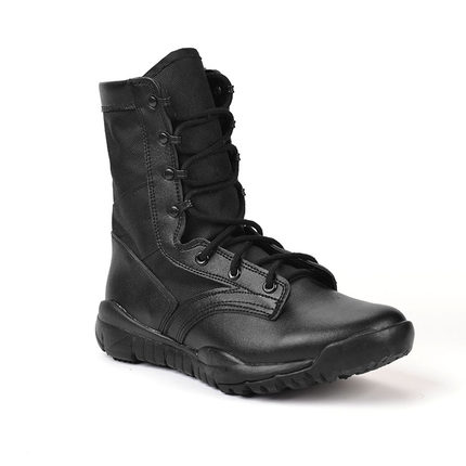 Sports & Entertainment ... Horse Riding ... 32609241820 ... 4 ... freeshipping CQB Military Tactical Black Boots Desert Combat Outdoor Army Hiking Summer light weight Leather Men Boots black ...