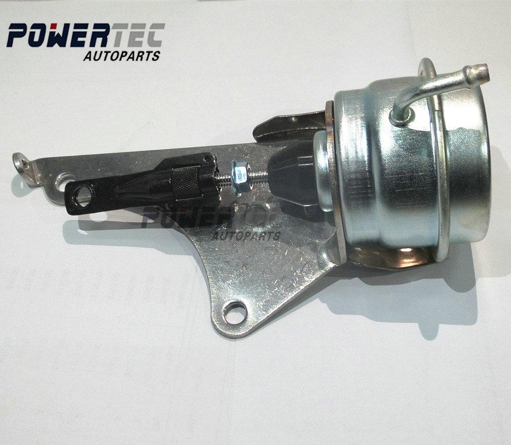 Wastegate valve on a turbo
