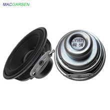 2 inch Mini Music Speakers 52mm full range speakers 4 ohm 5W PU side loudspeaker NdFeB Magnetic Horn DIY Portable Speaker 2pcs jantzen superes 5w 1 2 ohm