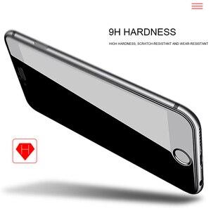 Image 4 - 2Pcs 3D Volle Abdeckung Gehärtetem Glas für iPhone 8 7 6 6s Plus 5 5s SE Bildschirm protector Auf iPhone X XS 11 Pro Max XR Schutzhülle Film