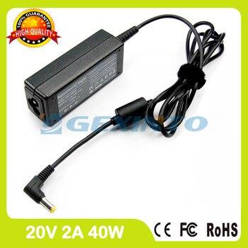 20 V 2A 40 W ordinateur portable chargeur adaptateur secteur pour MSI Wind U135 U135DX MS-N014 U140 MS-N034 U150 U150s MS-N051 U200 U200s MS-1242
