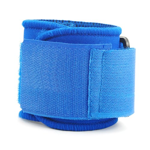 SZ-LGFM-New Blue Neoprene Wrist Palm Thumb Support Adjustable Strap Brace Sport