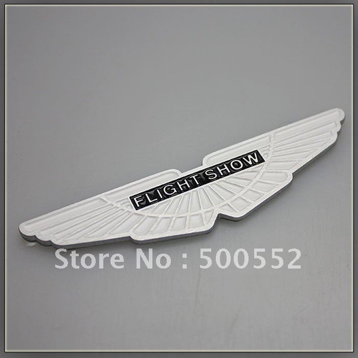 Aston Martin Emblem Car Tuning Emblem Metal Personalized