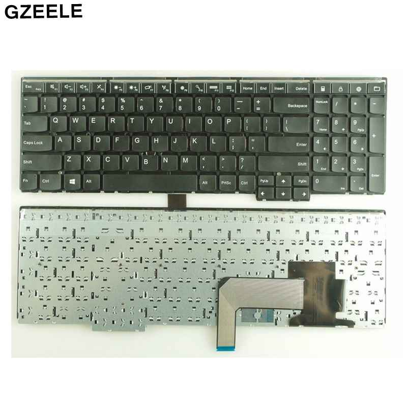 New US keyboard for Lenovo E540 E531 L540 T540 T540P W550 W540 W541 no  Backlight BLACK FOR IBM FOR Thinkpad E531 series