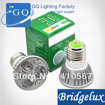 10 pcs /lot High Power 3W Mr16 E27 GU10 GU 5.3 LED, LED Lamp LED Spot Light Bulb Spotlight Lamp 12v Free Shipping