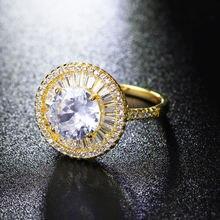 Большие круглые кольца Золотая тарелка ювелирные изделия женские