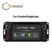 Ownice C500 Android 6,0 Octa Core Автомобильный dvd плеер для Jeep grand wrangler 2015 компас Patriot пути радио gps-навигатор 4 аппарат не привязан к оператору сотовой связ...