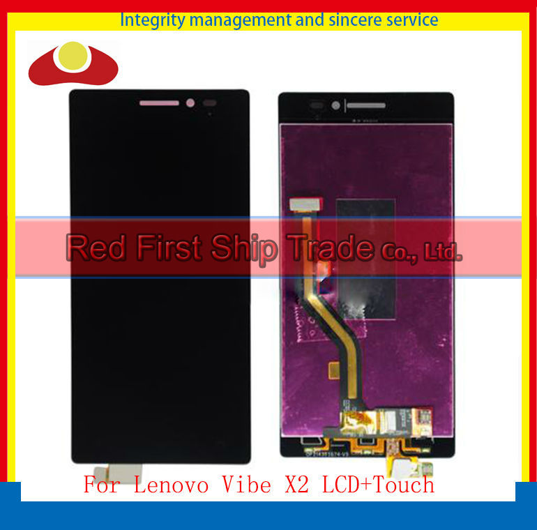 20Pcs/lot DHL EMS High Quality For Lenovo VIBE X2 Lcd Display Assembly Complete + Touch Screen Digitizer 5.0 inch Black 20pcs lot dhl ems high quality 5 0 for