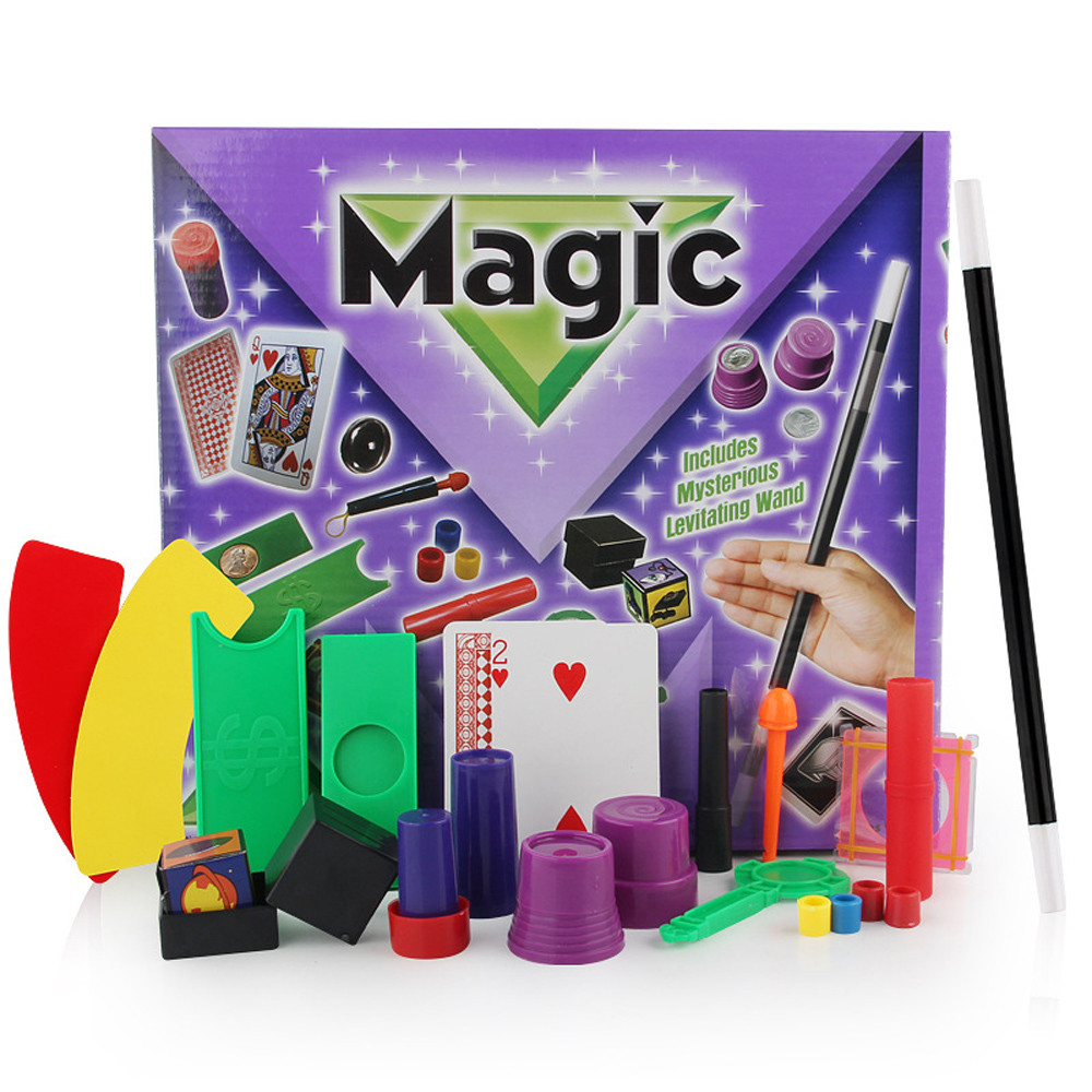 Magic Tricks Hanky Panky's Junior Magic Set For Kids Magic Tricks Toys For Children DVD Kit