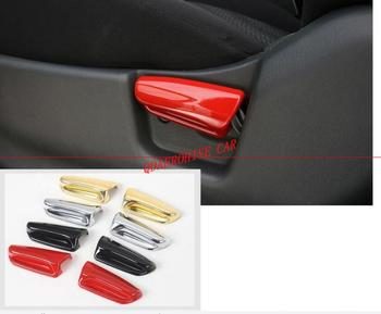 QDAEROHIVE ABS Car Interior Seats Adjustment Handle Decoration Cover Stickers for SUZUKI Jimny 2007-2015 image