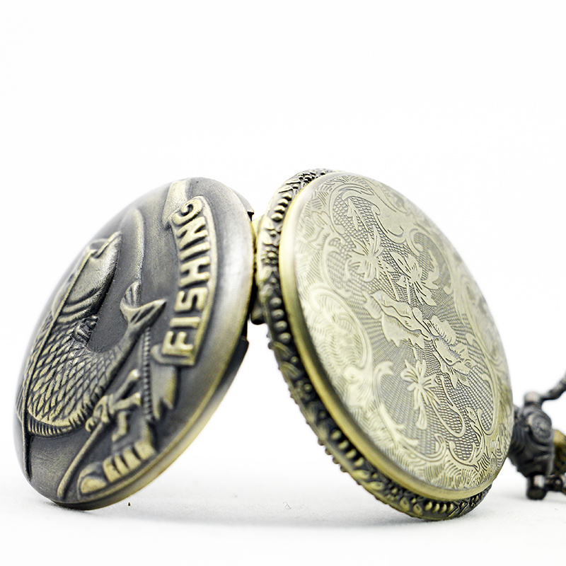 PB381-Vintage-Gifts-Fish-Pattern-Pocket-Watch-Quart-Chain-Necklace-Bronze-Full-Hunter-TD2033 (3)