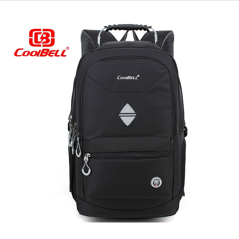 Cool Bell 18.4 inch large capacity laptop Backpack for Travel Business Bag for 17.6 inch Laptop Notebook Shockproof Waterproof 17 inch large capacity business backpacks waterproof nylon computer bag shockproof shoulder crossbody bag for travel d0320