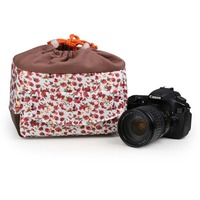 Shockproof Camera Lens Case Pouch Insert Cushion Partition Padded Bag For DSLR SLR For Canon 5D