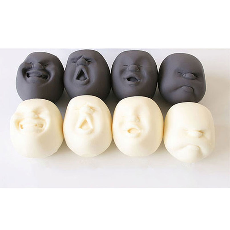 Toys & Hobbies Gags & Practical Jokes Soft Rising Squishy Antistress Charms Kawaii Expression Face Kids Fun Caomaru Press Squeeze Release Stress Decompression Toy