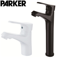 to the United States copper black white color single hole basin faucet paint high end bathroom faucet does not fade
