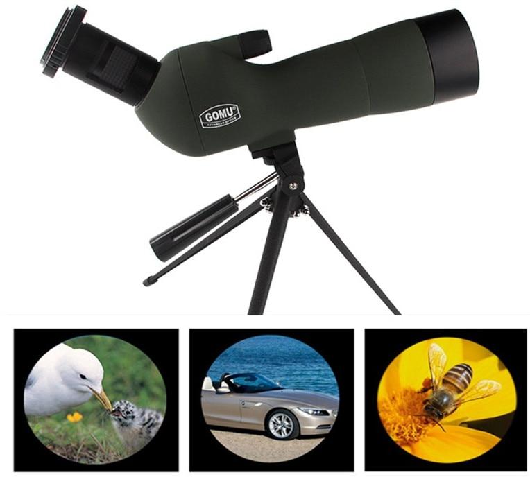 GOMU 20-60x60 AE Spotting Scope With 45-Degree Angled Eyepiece Low Light Night Vision RL38-0008
