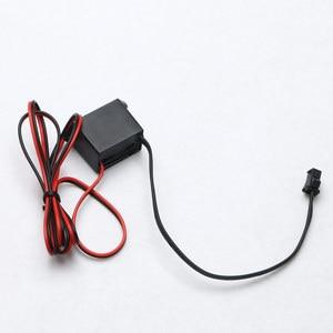 Image 2 - Pilote dalimentation pour fil néon 12V DC, Mini contrôleur dalimentation pour câble lumineux, 1 à 5M, onduleur, adaptateur dalimentation, Flexible