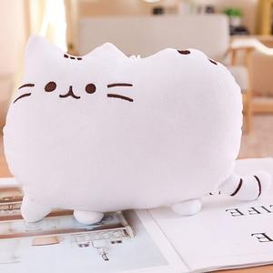 Image 2 - Игрушки «пушин» для кошек, 25 см, мягкие игрушки, мягкие котята, мягкие игрушки животные и плюшевые игрушки, милая подушка для кошек, подарок для маленьких девочек, игрушки «пуш ин»
