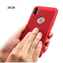 hot deal buy dcm breath phone case for iphone x luxury thin slim coque fundas hard pc full protect cover case for iphone x 10 coque capinhas