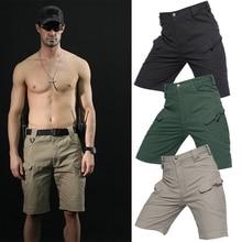 PureLeisure Men Outdoor Fishing Shorts Cargo Trousers Military Tactical Shorts for Mens Fishing Hiking Trekking Bike Shorts