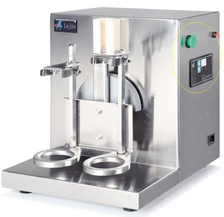 JKL free ship 2017 Hot sale 220V AUTO Stainless Steel milk shake machine drinker mixer machine double slider Blender milk shaker milk shake maker stainless steel milkshaker stirring machine beverage mixing blender with double cups zf
