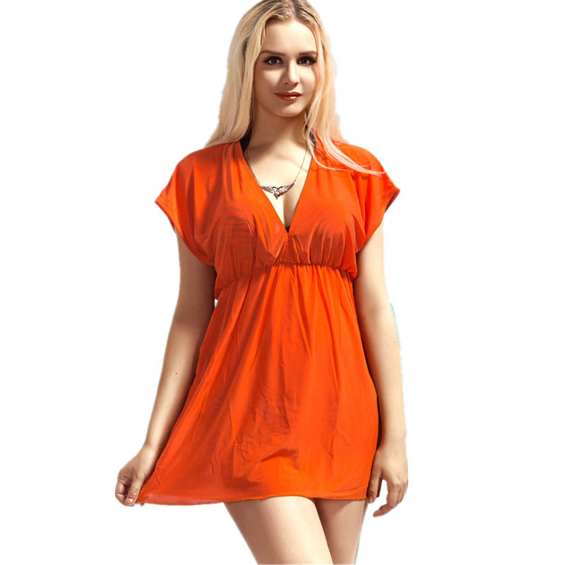 New swimwears hot sexy women cover-ups brand summer beach dress beachwear swimwear bikini cover up BK150