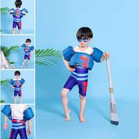 Chaleco de seguridad con anillo de brazo de bebé, chaqueta de seguridad de espuma Flotador para niño y niña, traje de baño, chaleco flotante para niño, accesorios de natación
