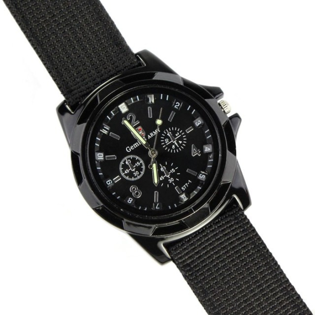 Army Racing Force Military Sport Fabric Band Watches