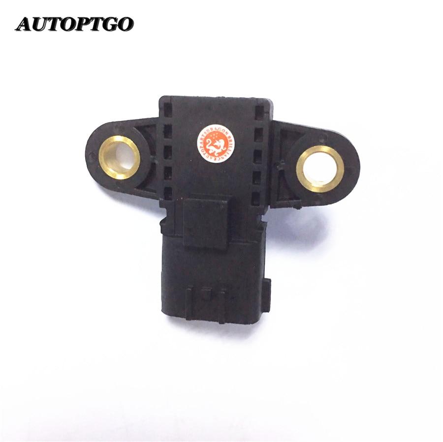 Autoptgo New 22365-EB30A Intake Air Pressure Sensor MAP Sensor 22365EB30A For Nissan Navara D40 Pathfinder NP300 R5 22365 EB30A genuine fuel rail high pressure sensor regulator for nissan navara d40 2 5 dci 499000 6131