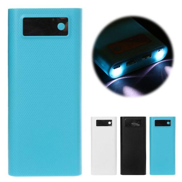 Dual USB QC 3.0 Loại C 8x18650 Pin DIY Power Bank Hộp Đèn Led Sạc Cho iPhone iPad samsung Thông Minh Điện Thoại Máy Tính Bảng