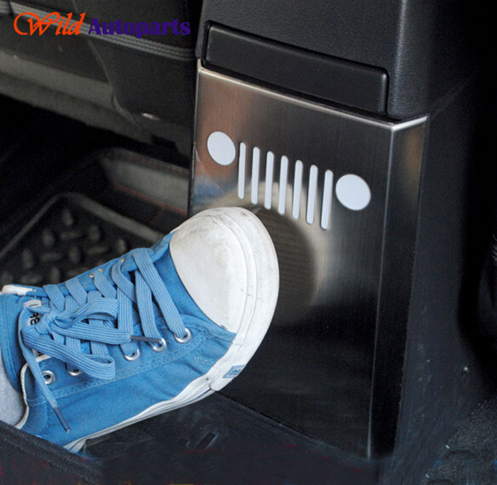 2013 Jeep Patriot Interior: Stainless Steel Interior Accessories Armrest Box Rear