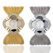 1 pc Femmes Montre marque De Luxe En Cristal Strass Bracelet À Quartz Dames Montre-Bracelet Bling Montre-bracelet horloges de mode cadeau H4