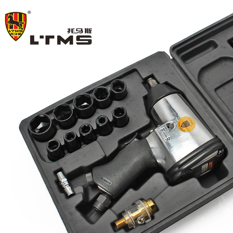 1/2 High Quality Small Gun Set Jackhammers Air Impact Pneumatic Wrench Reverse Combination Air Tools Pneumatic Impact Wrench  цены