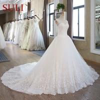 SL 102 Lace Corset Wedding Gowns Plus Size Wedding Dresses Bridal Gown Turkey